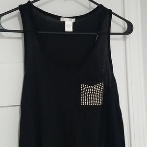 Bozzolo • Studded Tank Top, Size Small